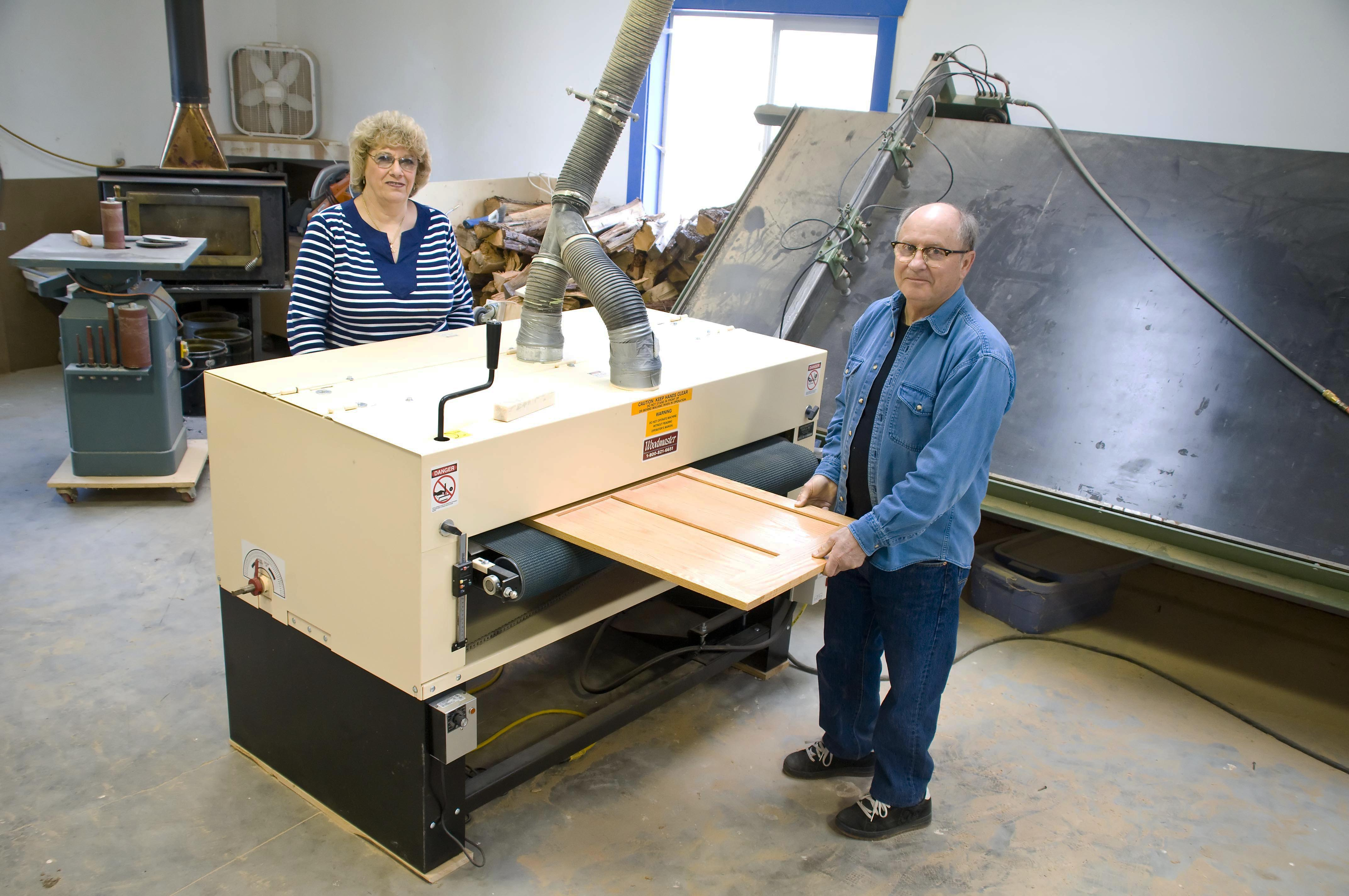 """""""My Woodmaster Drum Sander GIVES ME QUALITY RESULTS"""