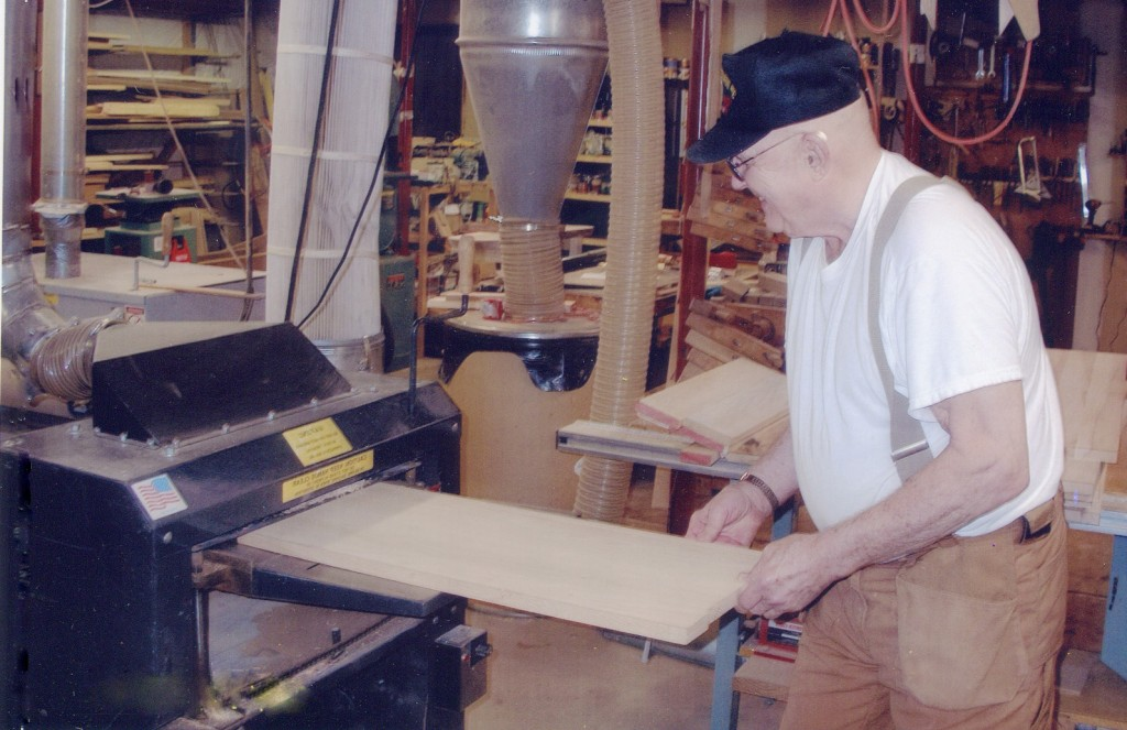 Ronald Frey has a Woodmaster Molder/Planer, too. He's owned and used it extensively — we switched from black paint to beige many years ago!