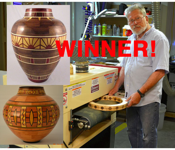 PHOTO CONTEST WINNER! Pete Marken's a WINNER in our Drum Sander Photo Contest. His full article -- his photos and story -- is featured on our Drum Sander Blog. YOU could be our next winner!
