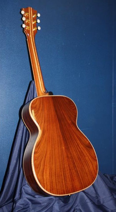 East Indian rosewood OM (Orchestra Model) guitar by John Mannino