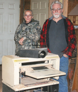 The Yanneys own a Woodmaster Molder/Planer, too.